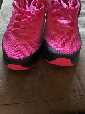 Pink and black womens Running Nike shoe 7.5 for Sale in Norfolk, VA