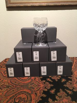 Waterford Crystal Oversized Wine Glasses - New!! for Sale in Austin, TX