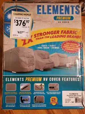 PREMIUM RV COVER 31'-34' NEW IN BOX for Sale in Everett, WA