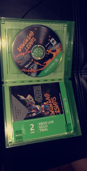 Xbox one sunset overdrive game for Sale in San Jose, CA