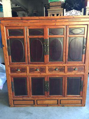 Antique Asian Cabinet for Sale in Menifee, CA