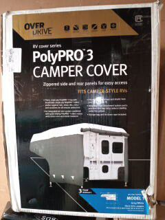 Camper cover polypro 3-(Fits-6-8) for Sale in Irving, TX