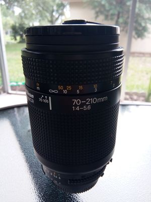 Nikon AF 70-210mm 1:4-5.6 zoom lens for Sale in Trinity, FL