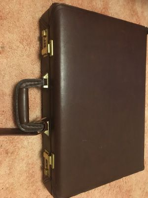 Leather briefcase for Sale in Pittsburgh, PA