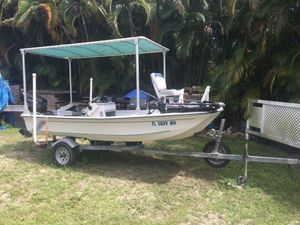 Mitchell 14'6 center console for Sale in Fort Myers Beach, FL