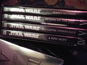 Star wars five dvds for Sale in Puyallup, WA