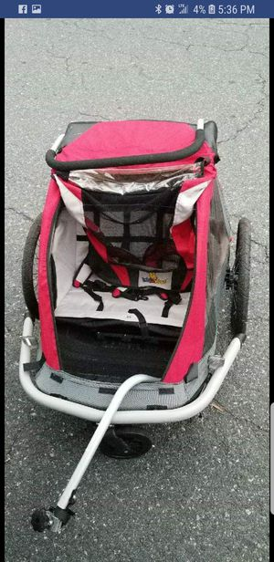 Bike trailer and stroller for Sale in Fredericksburg, VA