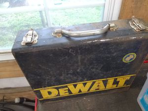 Vintage DeWalt Toolbox For Sale As Is for $20! (From 1992) for Sale in Houston, TX