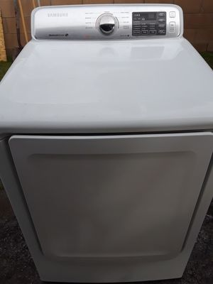 Samsung gas dryer works great free delivery and installation within 10 miles radius for Sale in Ontario, CA
