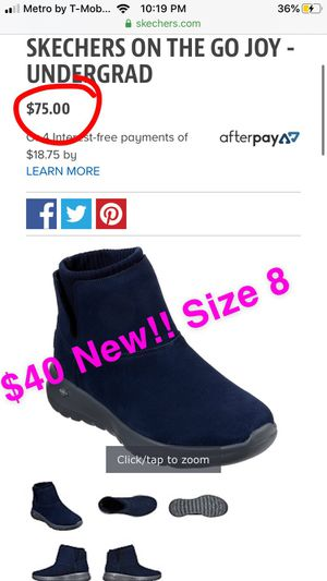 New women's Skechers boots size 8 for Sale in Banning, CA