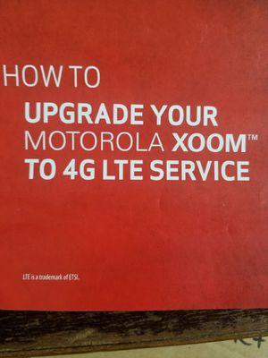 Motorola xoom 4g verizon tablet for Sale in Paradise Valley, AZ