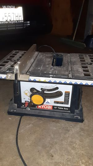 "Ryobi 10"" Table saw for Sale in Santa Clarita, CA"