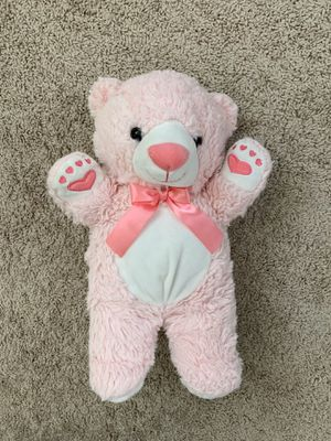 Stuffed animal pink teddy bear for Sale in Mesa, AZ
