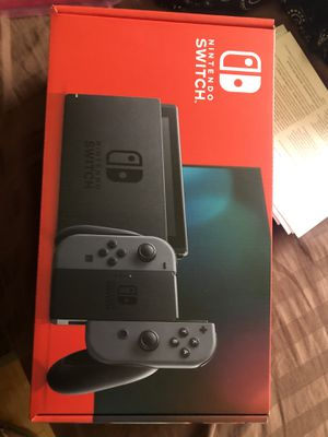 *Brand New* Nintendo Switch with Grey Joy Cons for Sale in El Monte, CA