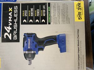 Kobalt 24v max brushless (tool only) for Sale in Atwater, CA
