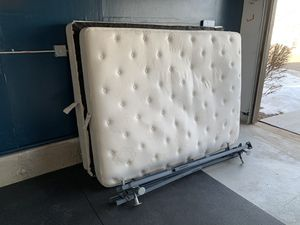 Free mattress, box spring and frame for Sale in Littleton, CO