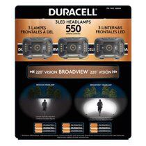 Duracell 550 Lumen 3-pack Headlamp for Sale in Silver Spring,  MD
