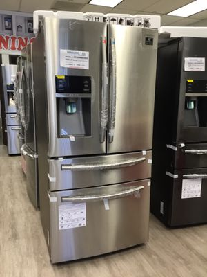 """4-French Door 33""""wide SAMSUNG REFRIGERATOR/New Product $1750 for Sale in Buena Park, CA"""