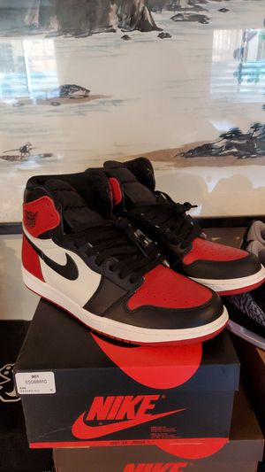 Nike Air Jordan 1 Bred Toe size 12 Ds No Box for Sale in Boulder, CO
