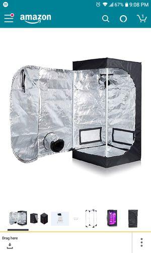 40×40×80 indoor grow tent 1000 adjustable HPS light for Sale in Puyallup, WA