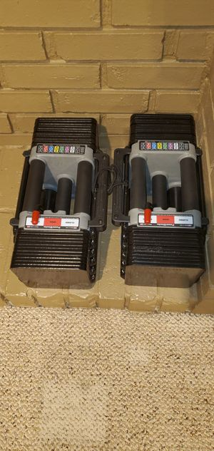 PowerBlock Elite 70lb Adjustable dumbbells for Sale in Utica, MI