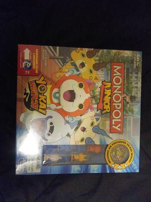 Monopoly Jr. Yo Kai Watch for Sale in Los Angeles, CA