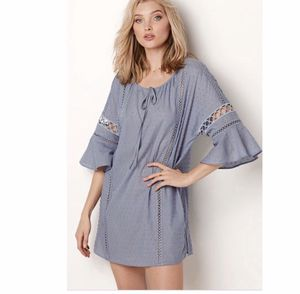 Victoria's Secret Eyelet Tunic size Large regular price 78$ for Sale in North Olmsted, OH