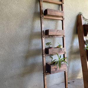 Ladder Style Planter Boxes /decor Box /flower Box for Sale in Modesto, CA
