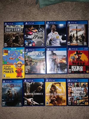 PS4 games for Sale in Sterling, VA