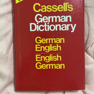 Cassell's German Dictionary (Concise Edition): German-English English-German for Sale in Combined Locks, WI