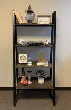 Industrial chic ladder shelf for Sale in Colorado Springs, CO