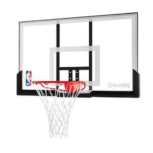 "New In Box Spalding NBA 54"" Acrylic Basketball Backboard & Rim Combo Hoop for Sale in Austin, TX"