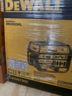 Portable generator Dewalt new for Sale in Piscataway, NJ