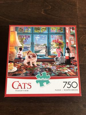 Buffalo games Cats puzzle 750 pc for Sale in New York, NY