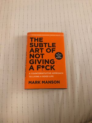 The subtle art of not giving a fuck, a book by Mark Manson for Sale in Palm Beach Gardens, FL
