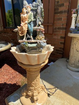 Very beautiful gorgeous patio Fountain with a stand for Sale in Troy, MI
