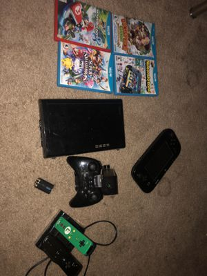 Nintendo Wii U with accessories and games for Sale in San Leandro, CA