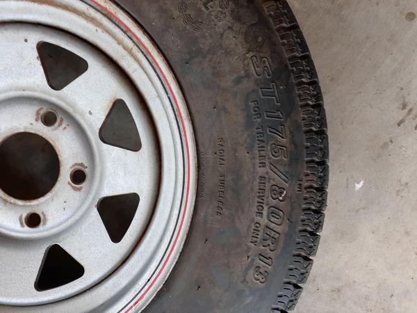 ST 175/80/R13 (trailer rim tire)