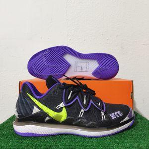 Nike Air Zoom Vapor X Kyrie V NYC US Open Black Purple Volt BQ5952-002 Size 10 for Sale in Tamarac, FL