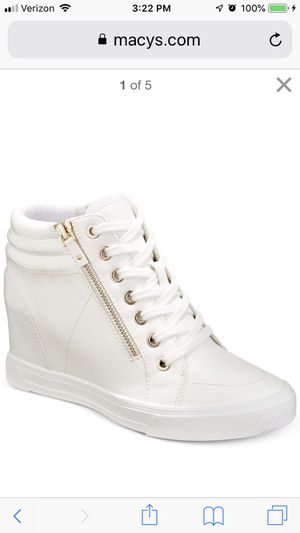 White Wedge, Summer Tennis Shoe, White Party for Sale in Bothell, WA
