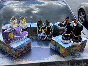 Simpson collection Vans 🔥🔥🔥 for Sale in Clinton, MD