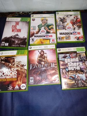 Xbox 360 games for Sale in Gonzales, LA