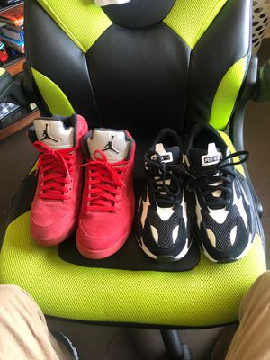 Jordan's and pumas for Sale in Wenatchee, WA