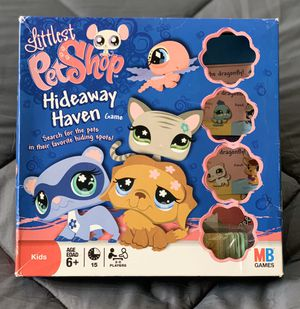 Littlest Pet Shop Hideaway Haven Board Game for Sale in Vallejo, CA