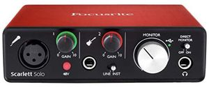 Focusrite is like new works with any type of software for Sale in North Miami Beach, FL