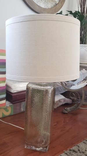 Gold Blown Glass Table Lamp for Sale in Baltimore, MD