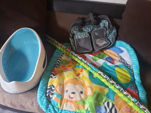Bath tube.diaper bag..baby toy. All 3 for 10 for Sale in San Jose, CA