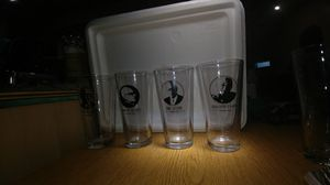 Libertarian glasses, flask, & shotglass for Sale in Greenfield, IN
