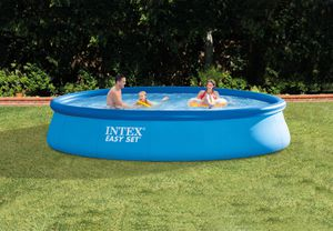Intex 13 ft x 33 in Easy Set Inflatable Pool with Pump Filter! for Sale in Katy, TX