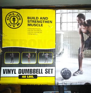 Gold's Gym Dumbbell Set for Sale in Buffalo, NY